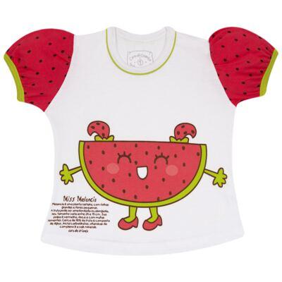 Imagem 2 do produto Pijama Curto que Brilha no Escuro Melancia - Cara de Criança - U0686 PIJAMA CURTO QUE BRILHA NO ESCURO MELANCIA-8