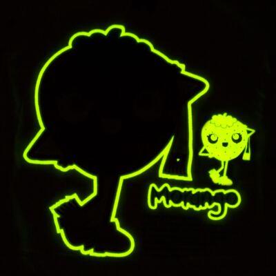 Imagem 4 do produto Pijama longo que Brilha no Escuro Moranguinho - Cara de Criança - L1635 MORANGO L PJ-LONGO M/MALHA-1