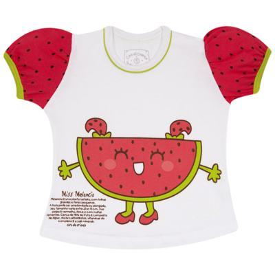 Imagem 2 do produto Pijama Curto que Brilha no Escuro Melancia - Cara de Criança - U0686 PIJAMA CURTO QUE BRILHA NO ESCURO MELANCIA-6