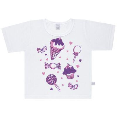 Imagem 2 do produto Pijama curto com Shorts em malha Candy - Cara de Sono - U1998 GULOSEIMAS U PIJAMA-CURTO M/MALHA -1