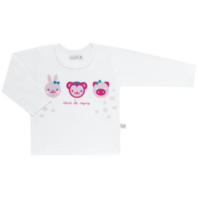 Imagem 2 do produto Pijama longo em malha Bichinhos - Cara de Sono - L1743 ANIMAIS FEM. L PJ-LONGO M/MALHA-2