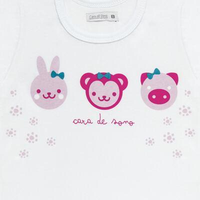 Imagem 3 do produto Pijama longo em malha Bichinhos - Cara de Sono - L1743 ANIMAIS FEM. L PJ-LONGO M/MALHA-2