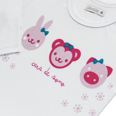 Imagem 4 do produto Pijama longo em malha Bichinhos - Cara de Sono - L1743 ANIMAIS FEM. L PJ-LONGO M/MALHA-1
