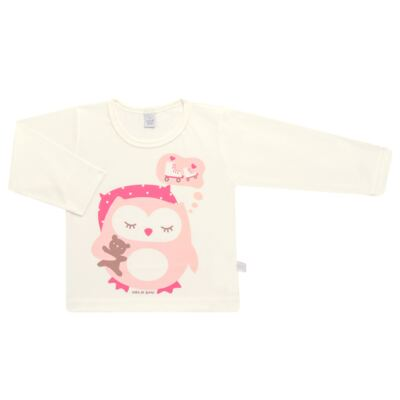Imagem 2 do produto Pijama longo em malha Corujita - Cara de Sono - L2437 CORUJA L PG-LONGO M/MALHA-2