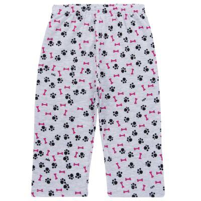 Imagem 6 do produto Pijama longo para bebe que Brilha no Escuro Black Pug - Cara de Criança - L2341 PUG FEM L PJ-LONGO M/MALHA -4