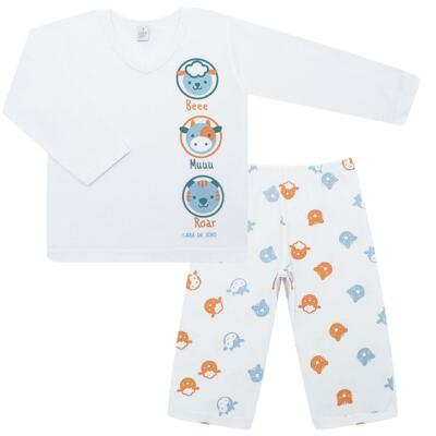 Imagem 1 do produto Pijama longo em malha Bichinhos - Cara de Sono - L1733-ANIMAIS MASC L PJ-LONGO M/MALHA-2