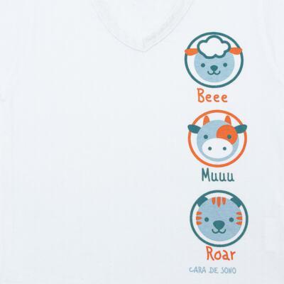 Imagem 3 do produto Pijama longo em malha Bichinhos - Cara de Sono - L1733-ANIMAIS MASC L PJ-LONGO M/MALHA-2