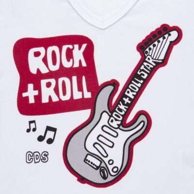 Imagem 3 do produto Pijama longo em malha Rockn´ Roll - Cara de Sono - L2466 ROCK+ROLL L PG-LONGO M/MALHA-4