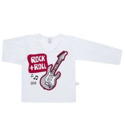 Imagem 2 do produto Pijama longo em malha Rockn´ Roll - Cara de Sono - L2466 ROCK+ROLL L PG-LONGO M/MALHA-1