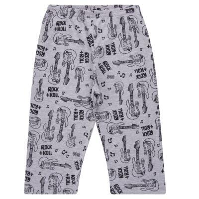 Imagem 4 do produto Pijama longo em malha Rockn´ Roll - Cara de Sono - L2466 ROCK+ROLL L PG-LONGO M/MALHA-1