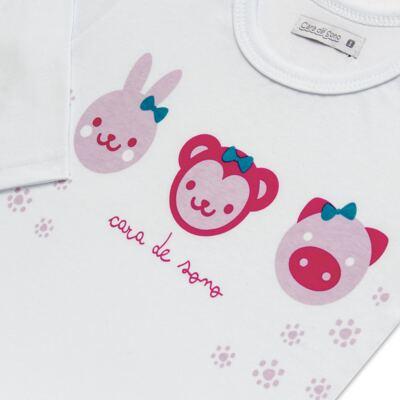 Imagem 4 do produto Pijama longo em malha Bichinhos - Cara de Sono - L1743 ANIMAIS FEM. L PJ-LONGO M/MALHA-3