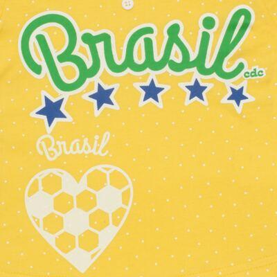 Imagem 3 do produto Pijama longo que Brilha no Escuro Brasil - Cara de Criança - L1112 Pijama longo que Brilha no Escuro Brasil-2