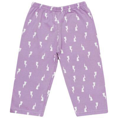 Imagem 4 do produto Pijama longo que Brilha no Escuro Super Menina - Cara de Criança - L1021 Pijama longo que Brilha no Escuro Super Menina-3