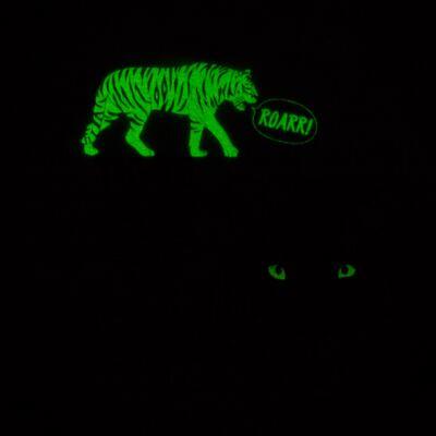 Imagem 5 do produto Pijama longo que Brilha no escuro Tigre - Cara de Criança - L2357 TIGRE L PJ-LONGO M/MALHA -4