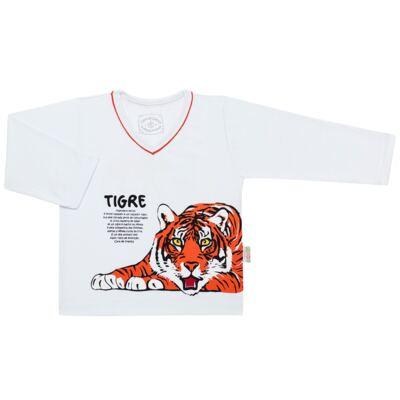 Imagem 2 do produto Pijama longo que Brilha no escuro Tigre - Cara de Criança - L2357 TIGRE L PJ-LONGO M/MALHA -6