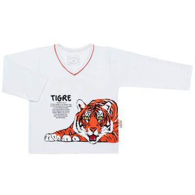Imagem 2 do produto Pijama longo que Brilha no escuro Tigre - Cara de Criança - L2357 TIGRE L PJ-LONGO M/MALHA -2