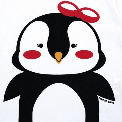 Imagem 3 do produto Pijama longo c/ Capri Pinguinha - Cara de Sono - L1729 PINGUINHA L PJ-LONGO M/MALHA-1