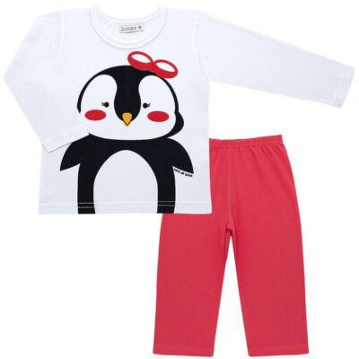 Imagem 1 do produto Pijama longo c/ Capri Pinguinha - Cara de Sono - L1729 PINGUINHA L PJ-LONGO M/MALHA-2