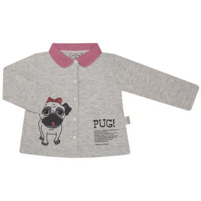 Imagem 2 do produto Pijama que Brilha no Escuro Pug - Cara de Criança - L0553 PIJAMA QUE BRILHA NO ESCURO PUG-2