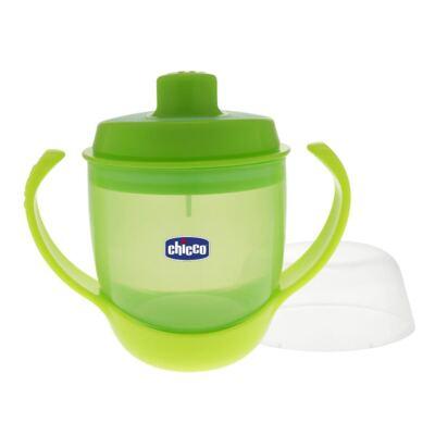 Imagem 4 do produto Conjunto de pratos Raso e de Sopa (12m+) + Kit Talheres em inox (18m+) + Copo Papinha Verde (12m+) - Chicco