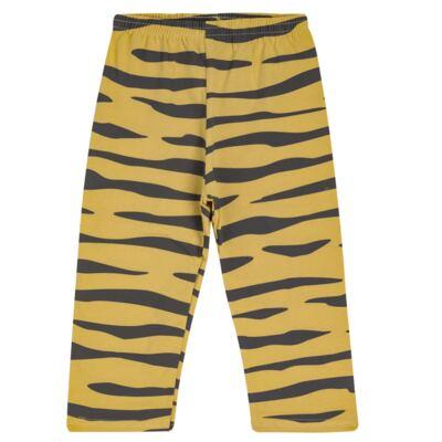Imagem 5 do produto Pijama curto em malha que Brilha no Escuro Tigre - Cara de Criança - C2897 TIGRE C PJ MG CURTA C/CALCA M/MALHA-1