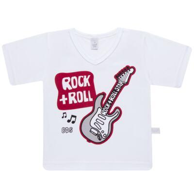 Imagem 2 do produto Pijama curto em malha Rockn´ Roll - Cara de Sono - U2466 ROCK+ROLL U PIJAMA-CURTO M/MALHA -2