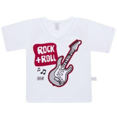Imagem 2 do produto Pijama curto em malha Rockn´ Roll - Cara de Sono - U2466 ROCK+ROLL U PIJAMA-CURTO M/MALHA -4