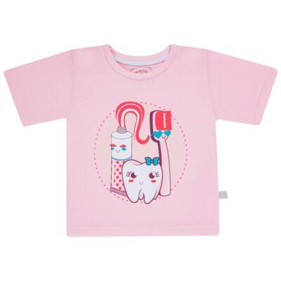 Imagem 2 do produto Pijama curto que Brilha no Escuro Dentinha - Cara de Criança - U2881 TIME SORRISO FEM U PIJAMA CURTO M/MALHA-4