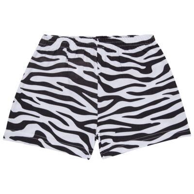 Imagem 6 do produto Pijama curto que Brilha no Escuro Tigre Branco - Cara de Criança - U2283 TIGRE BRANCO U PIJAMA CURTO M/MALHA-4