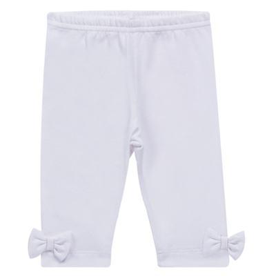 Imagem 1 do produto Legging para bebe em cotton Branca - Tilly Baby - TB168013.01 LEGGING FEMININA BRANCA-P