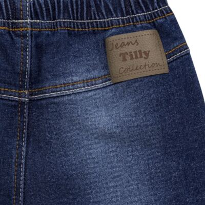 Imagem 2 do produto Shorts para bebê jeans Stonewashed - Tilly Baby - TB168001 SHORTS JEANS MASCULINO-M