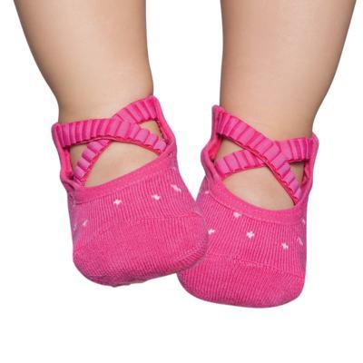 Imagem 1 do produto Meia Sapatilha para bebe ballet Pink - Puket
