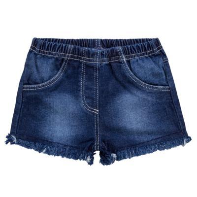 Imagem 1 do produto Shorts para bebê jeans Destroyed - Tilly Baby - TB168000 SHORT JEANS FEMININO-3
