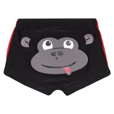 Imagem 1 do produto Sunga Boxer em lycra Gorilla - Cara de Criança - SBB1921 GORILA SUNGA BOXER BEBE LYCRA-M