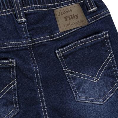 Imagem 2 do produto Calça jeans masculina para bebe Stonewhashed - Tilly Baby - TB168003 CALÇA JEANS MASCULINA-1