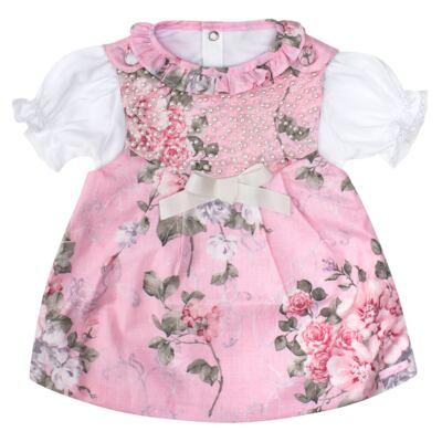 Imagem 1 do produto Vestido c/ Body curto para bebê Floral - Roana