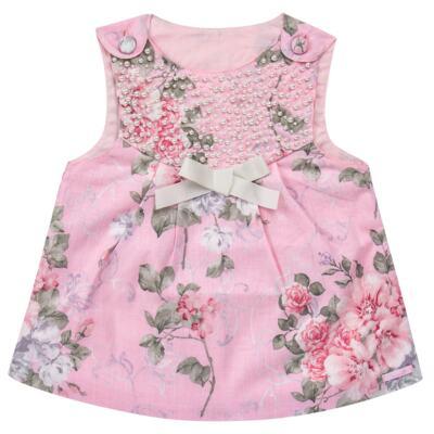 Imagem 2 do produto Vestido c/ Body curto para bebê Floral - Roana