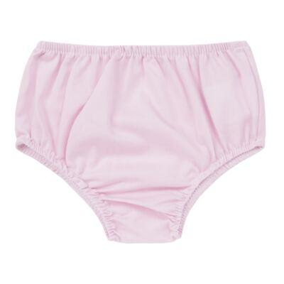 Imagem 4 do produto Vestido c/ Calcinha para bebe em tricoline Flourish - Mini Sailor - 14394440 VESTIDO RECORTE LACO TRICOLINE FLORAL ROSA-6-9
