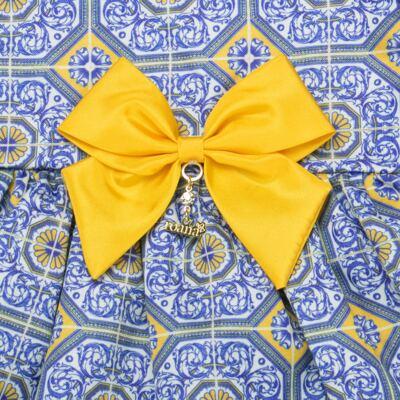 Imagem 4 do produto Vestido c/ calcinha para bebe Azulê - Roana - 24042059022 VESTIDO C/CALCINHA AZUL-M