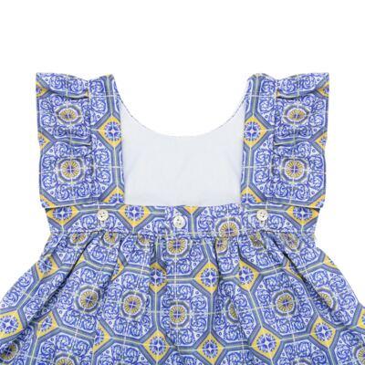 Imagem 5 do produto Vestido c/ calcinha para bebe Azulê - Roana - 24042059022 VESTIDO C/CALCINHA AZUL-M