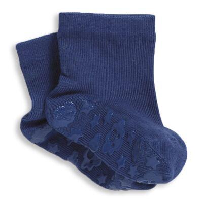 Imagem 1 do produto Meia Soquete para bebe Antiderrapante Marinho - Puket