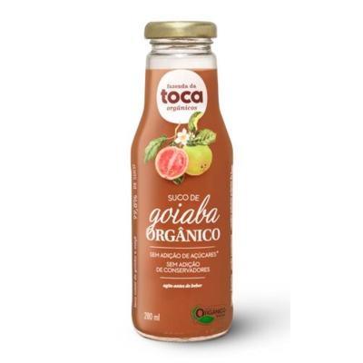 Imagem 1 do produto Suco de Goiaba Orgânico Integral Fazenda da Toca 280ml