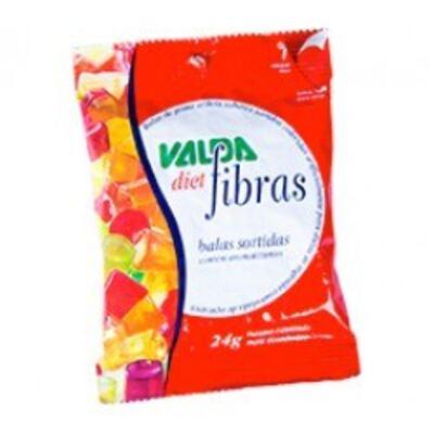 Imagem 1 do produto Balas com Fibras Diet Valda 24g