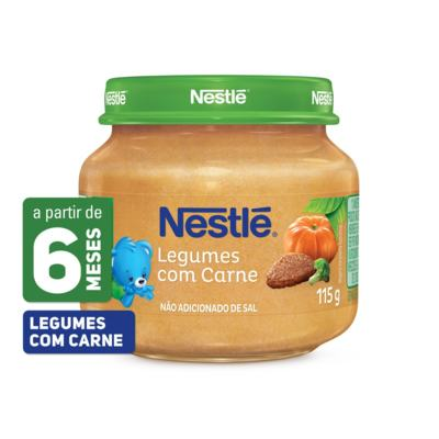 Imagem 1 do produto Papinha Nestlé Legumes com Carne 115g