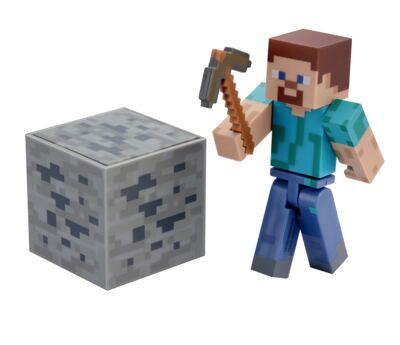Imagem 1 do produto Boneco Steve Minecraft Com Acessórios - BR144B