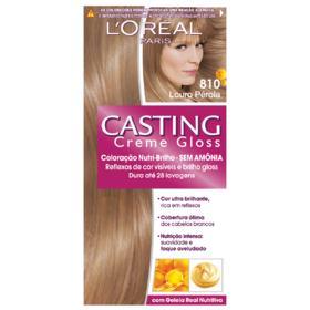 Coloração Creme L'Oréal Paris Casting Creme Gloss - 810 Louro Pérola | 1 unidade