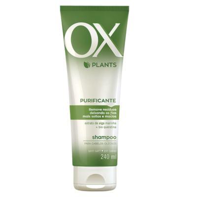 Imagem 2 do produto Kit OX Plants Purificante Shampoo 240ml + Condicionador 240ml