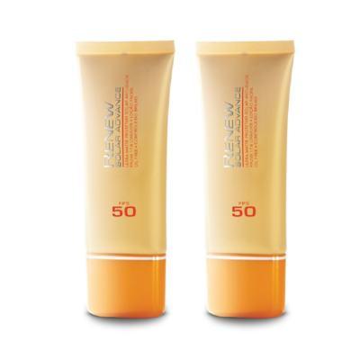 Kit Protetor Solar Facial Anti-idade Renew FPS 50 50 ml