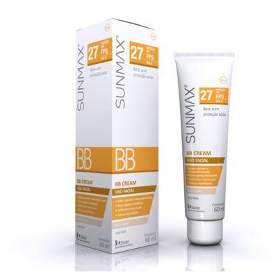 Imagem 1 do produto Protetor Solar Sunmax BB Cream Bege Claro Stiefel 60ml