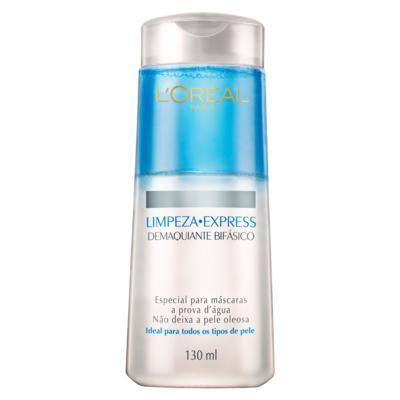 Imagem 1 do produto Demaquilante L'Oréal Bifásico Limpeza Express 130ml